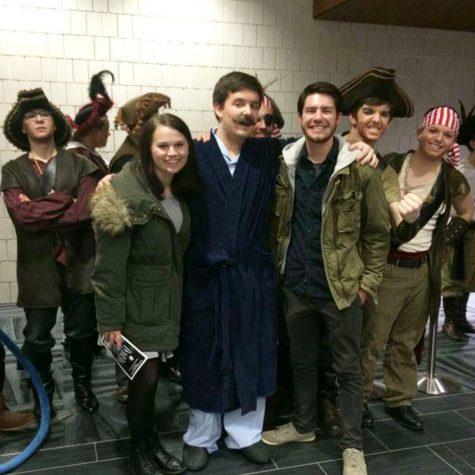 "Jenison High School senior Dan Bittner shares his experience in ""Peter Pan"""