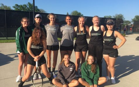 Last tournament for the Jenison Tennis Team