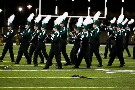 Details from Mr. Zamborsky on the new marching band show
