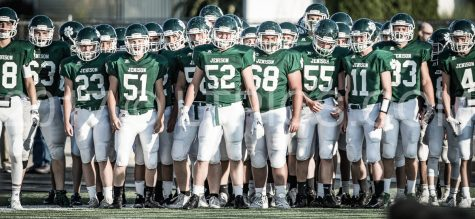 Jenison football battle against Mona Shores Sailors