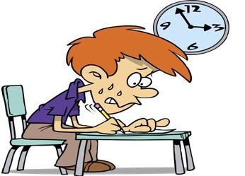 A senseless schedule:  exams should be moved before break