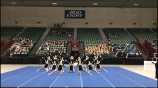 Annual cheer competition held at the Deltaplex Arena