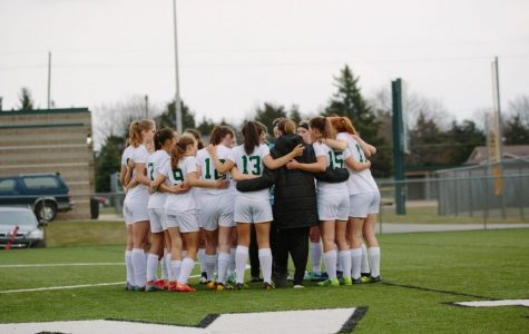 Girls varsity soccer took their first win against Kenowa Hills High School