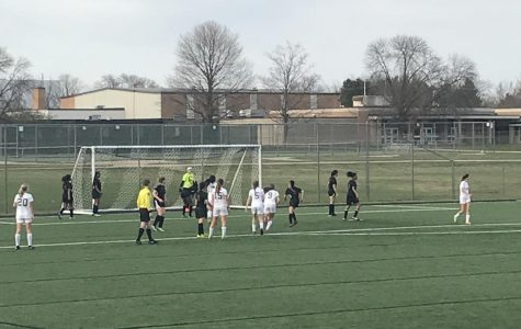 Jenison soccer game against Muskegon