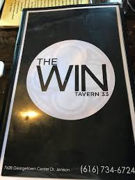 The Win Tavern in Jenison