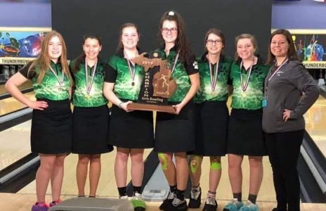 Girls varsity bowling team's success