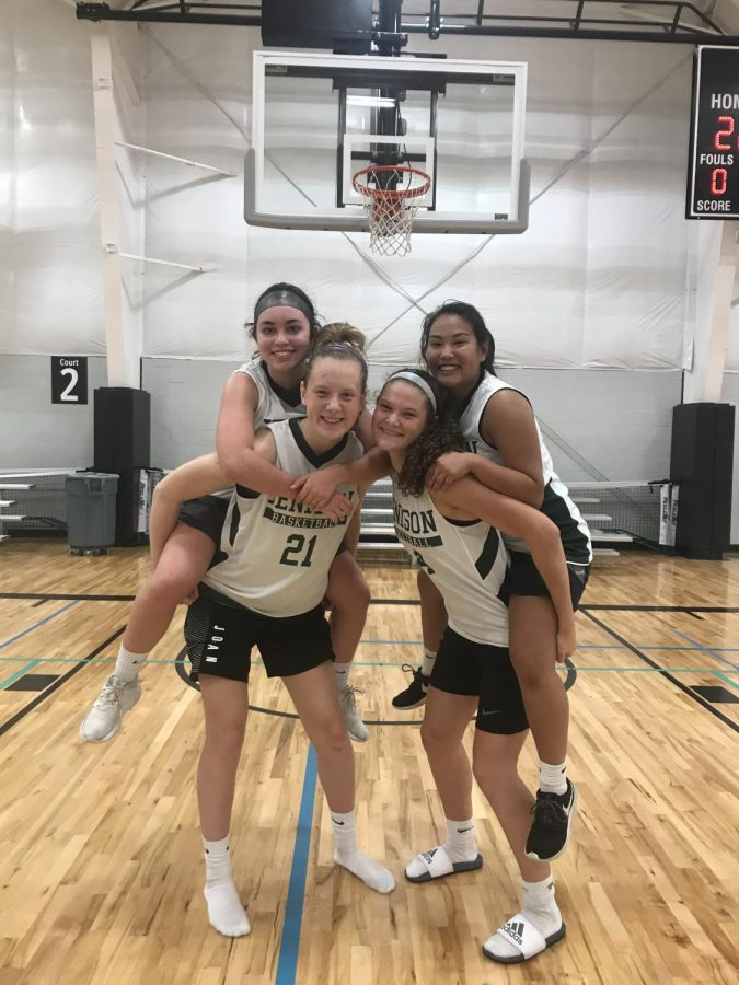 Determination drives preseason preparation for the girls varsity basketball team