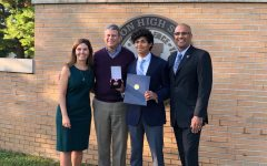 Tej Kothari '20 earns congressional award