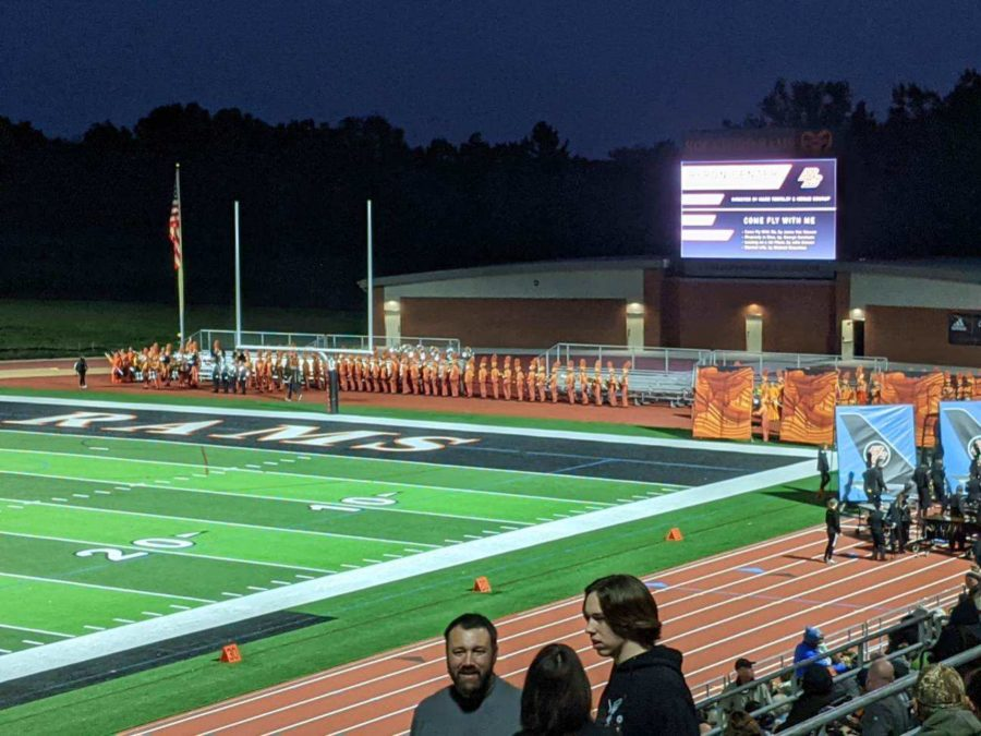 Jenison heads off to the Rockford marching band invitational on Saturday the 25th